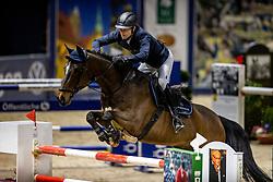 KONLE Hans-Peter (GER), Quick Stepp<br /> Grand Prix von Volkswagen<br /> Int. jumping competition over two rounds (1.55 m) - CSI3*<br /> Comp. counts for the LONGINES Rankings<br /> Braunschweig - Classico 2020<br /> 08. März 2020<br /> © www.sportfotos-lafrentz.de/Stefan Lafrentz
