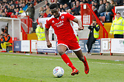 Crawley Town midfielder Enzio Boldewijn (7) during the EFL Sky Bet League 2 match between Crawley Town and Cheltenham Town at the Checkatrade.com Stadium, Crawley, England on 24 March 2018. Picture by Andy Walter.