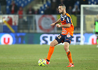 JAMEL SAIHI - 07.02.2015 - Montpellier / Lille - 24eme journee de Ligue 1<br /> Photo : Andre Delon / Icon Sport