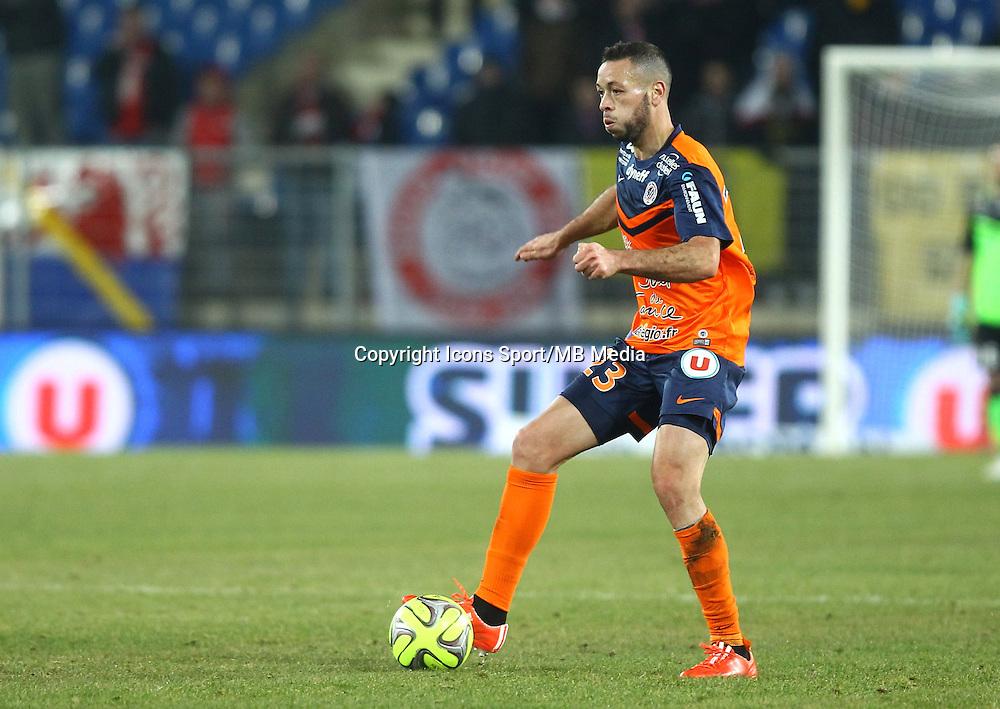 JAMEL SAIHI - 07.02.2015 - Montpellier / Lille - 24eme journee de Ligue 1<br /> Photo : Andre Delon / Icon Sport