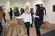 CHANTAL RAPES; MELANIE GAULT, The preview of LAPADA Art and Antiques Fair. Berkeley Sq. London. 21 September 2015.