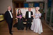 CHARLES SAUMERAZ SMITH; SARAH FABERGE; SIR PAUL JUDGE; LADY BARBARA  JUDGE, Triennial Summer Ball, Royal Academy. Piccadilly. London. 20 June 2011. <br /> <br />  , -DO NOT ARCHIVE-© Copyright Photograph by Dafydd Jones. 248 Clapham Rd. London SW9 0PZ. Tel 0207 820 0771. www.dafjones.com.