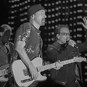 U2 play Key Arena, Seattle, WA on 4-24-2005