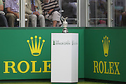 The Championship Trophy during The Senior Open Championship, Sunningdale Golf Club, Sunningdale, United Kingdom on 23 July 2015. Photo by Phil Duncan.