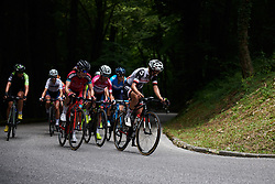 Lucinda Brand (NED) on the final climb at Giro Rosa 2018 - Stage 10, a 120.3 km road race starting and finishing in Cividale del Friuli, Italy on July 15, 2018. Photo by Sean Robinson/velofocus.com