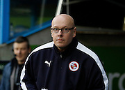 Newly appointed Reading first team manager Brian McDermott before the Sky Bet Championship match between Reading and Blackburn Rovers at the Madejski Stadium, Reading, England on 20 December 2015. Photo by Andy Walter.