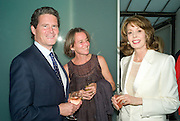 BOB MAGUIRE, KATE BUCKNELL, THE  AMERICAN AMBASSADOR'S WIFE MRS.  ROBERT TUTTLE. These Foolish Things, charity evening hosted by Sir Richard and Lady Rogers. Chelsea. London. 7 May 2008.  *** Local Caption *** -DO NOT ARCHIVE-© Copyright Photograph by Dafydd Jones. 248 Clapham Rd. London SW9 0PZ. Tel 0207 820 0771. www.dafjones.com.
