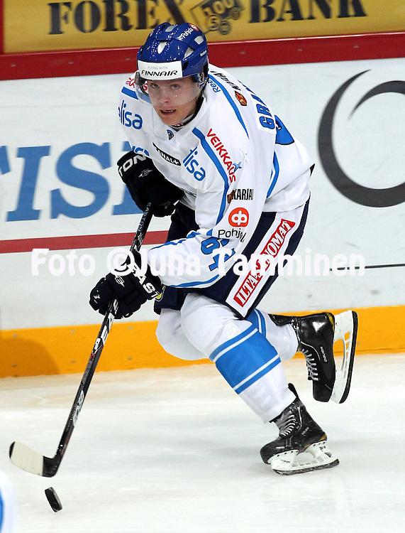 10.11.2011, Hartwall-Areena, Helsinki, Finland..Euro Hockey Tour - Karjala-turnaus 2011. Suomi - Venj / Finland v Russia..Mikael Granlund - Suomi..
