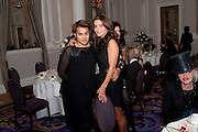 PABLO GANGULI; ELLA KRASNER, Liberatum 10th Anniversary dinner in honour of Sir Peter Blake. Hosted by Pable Ganguli and Ella Krasner. The Corinthia Hotel, Whitehall. London. 23 November 2011.