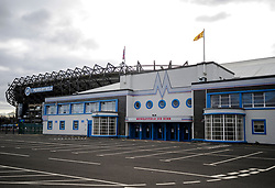 Murrayfield Ice Rink in the shadow of the national rugby stadium is one of the possible sites that may be looked at for a mass mortuary during the current Coronavirus pandemic lockdown in Edinburgh.<br /> <br /> © Dave Johnston / EEm