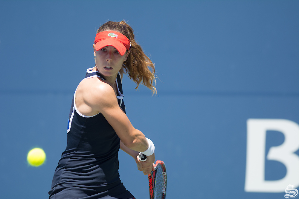 Alizé Cornet. Bank of The West Classic 2016. Photo by Rahim Ullah