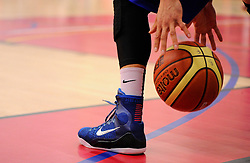 - Photo mandatory by-line: Joe Meredith/JMP - Mobile: 07966 386802 - 21/02/2015 - SPORT - Basketball - Bristol - SGS Wise Campus - Bristol Flyers v Plymouth Uni Raiders - British Basketball League