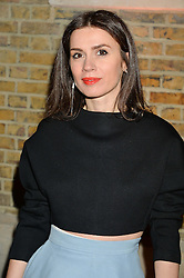 LARA BOHINC at the Future Contemporaries Party in association with Coach at The Serpentine Sackler Gallery, West Carriage Drive, Kensington Gardens, London on 21st February 2015.