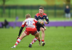 James Newey of Bristol United - Mandatory by-line: Paul Knight/JMP - 18/11/2017 - RUGBY - Clifton RFC - Bristol, England - Bristol United v Gloucester United - Aviva A League