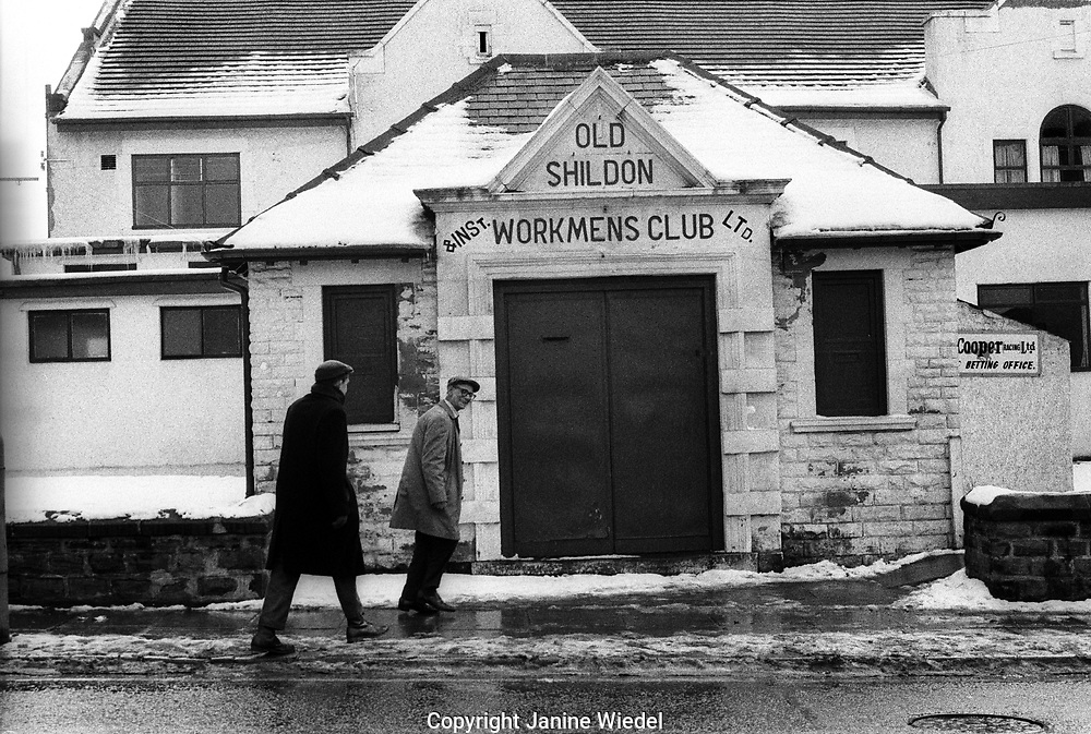 Small town of Shilden in County Durhan in the North of England where unemployment hit hard in the mid-1980s