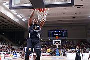 Sutton Dominique<br /> Dolomiti Energia Trentino Trento vs Germani Basket Brescia<br /> Lega Basket Serie A 2017/2018<br /> Trento 14/10/2017<br /> Foto Ciamillo-Castoria/A.Gilardi