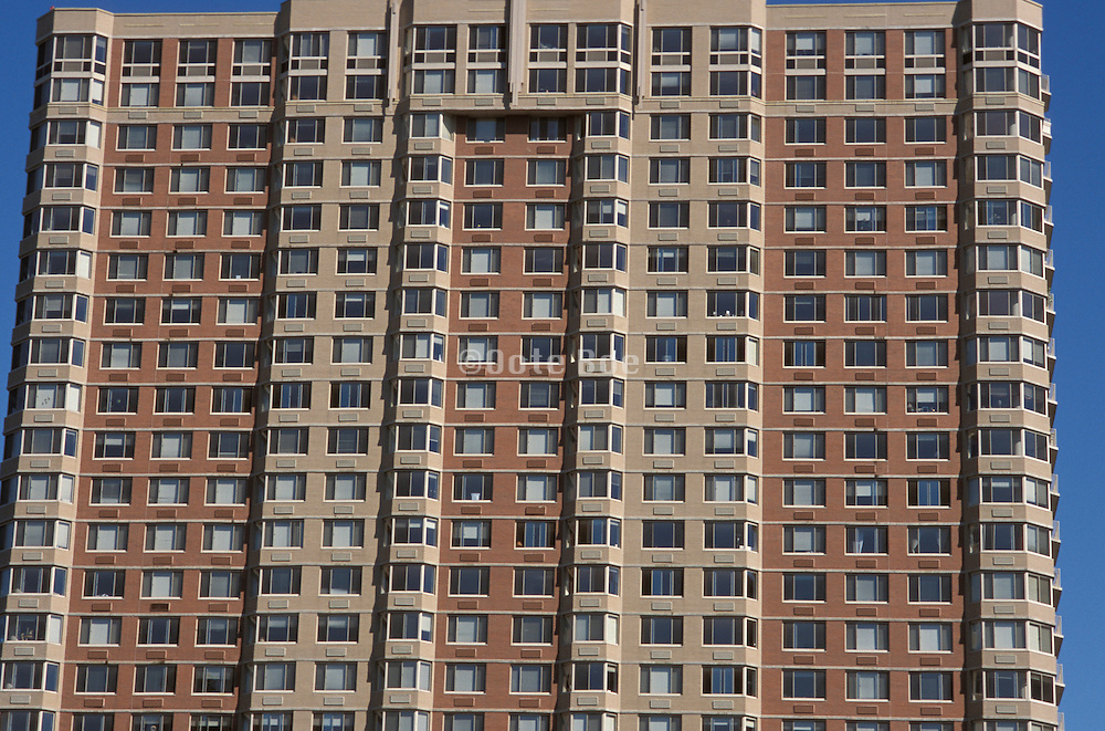 Close up of Apartment building high rise.