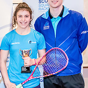 Presentations. Images from the Scottish Junior National and under 23 Squash Championships, 5 Feb 2017 at the Aberdeen Squash & Racketball Club. Photo: Paul J Roberts   RobertsSports Photo. All Rights Reserved