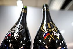 September 30, 2018 - Sochi, Russia - Motorsports: FIA Formula One World Championship 2018, Grand Prix of Russia,    Champagne Bottles  (Credit Image: © Hoch Zwei via ZUMA Wire)