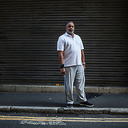Anthony Ray Hinton who spent 30 years on death row in America for a murder he didn't commit. For Guardian Weekend, Experience page.