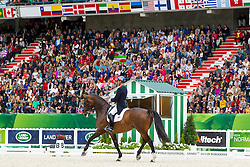 Carl Hester, (GBR), Nip Tuck - Grand Prix Special Dressage - Alltech FEI World Equestrian Games™ 2014 - Normandy, France.<br /> © Hippo Foto Team - Leanjo de Koster<br /> 25/06/14