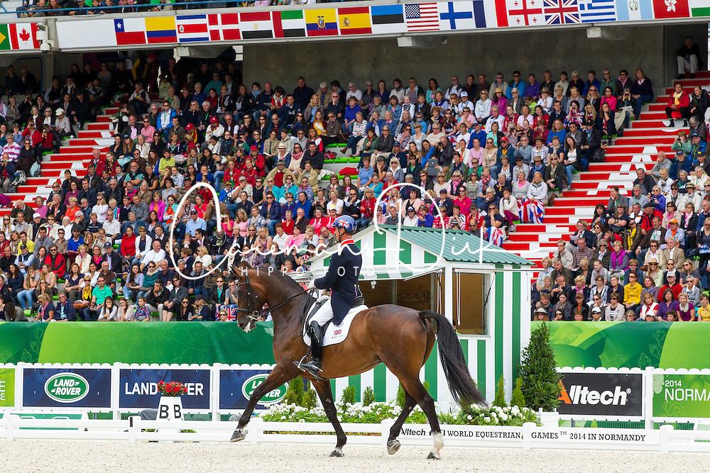 Carl Hester, (GBR), Nip Tuck - Grand Prix Special Dressage - Alltech FEI World Equestrian Games™ 2014 - Normandy, France.<br /> © Hippo Foto Team - Leanjo de Koster<br /> 25/06/14