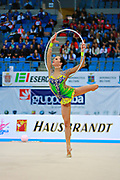 Neta Rivkin during final at hoop in Pesaro World Cup at Adriatic Arena on 12 April 2015. Neta was born on June 23, 1991 in Petah Tiqwa Israel. <br />