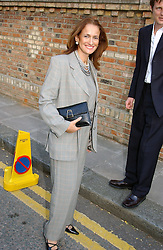 ISOBEL GOLDSMITH at Sir David & Lady Carina Frost's annual summer party held in Carlyle Square, London on 6th July 2004.