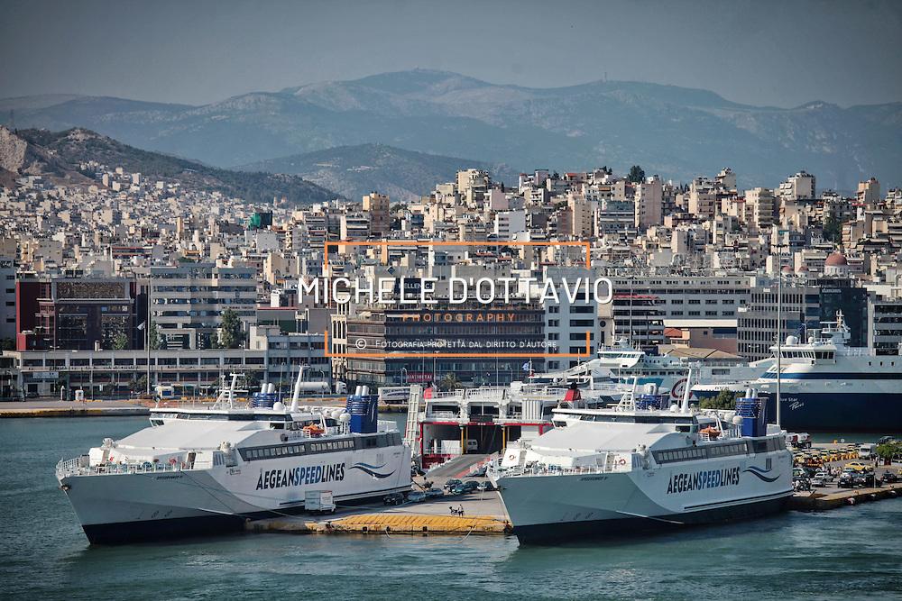 Porto del Pireo, ATENE GRECIA