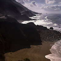 california, big sur, ocean, highway one, beach, coast