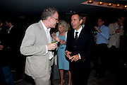 HANS OBRIST; JEFF KOONS, Dinner hosted by Julia Peyton-Jones and Hans Obrist for the Council of the Serpentine to celebrate: Jeff Koons, Popeye Series. Paramount Club, Paramount Centre Point. London. 30 June 2009