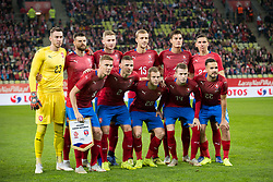 November 15, 2018 - Gdansk, Pomorze, Poland - Czech Republic national football team during the international friendly soccer match between Poland and Czech Republic at Energa Stadium in Gdansk, Poland on 15 November 2018  (Credit Image: © Mateusz Wlodarczyk/NurPhoto via ZUMA Press)