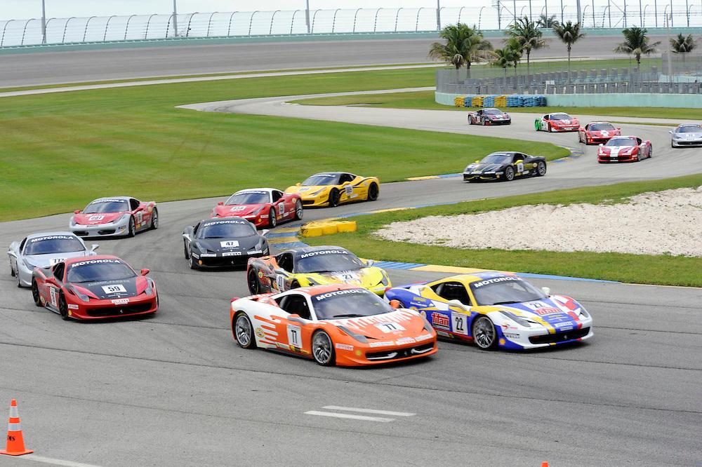 Motorsport - Ferarri Challenge Homestead