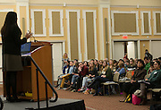 Sheila Bedi's expertise in civil rights was heard by a full capacity Baker Ballroom. The event was sponsored by Ohio University Center for Law and Justice.