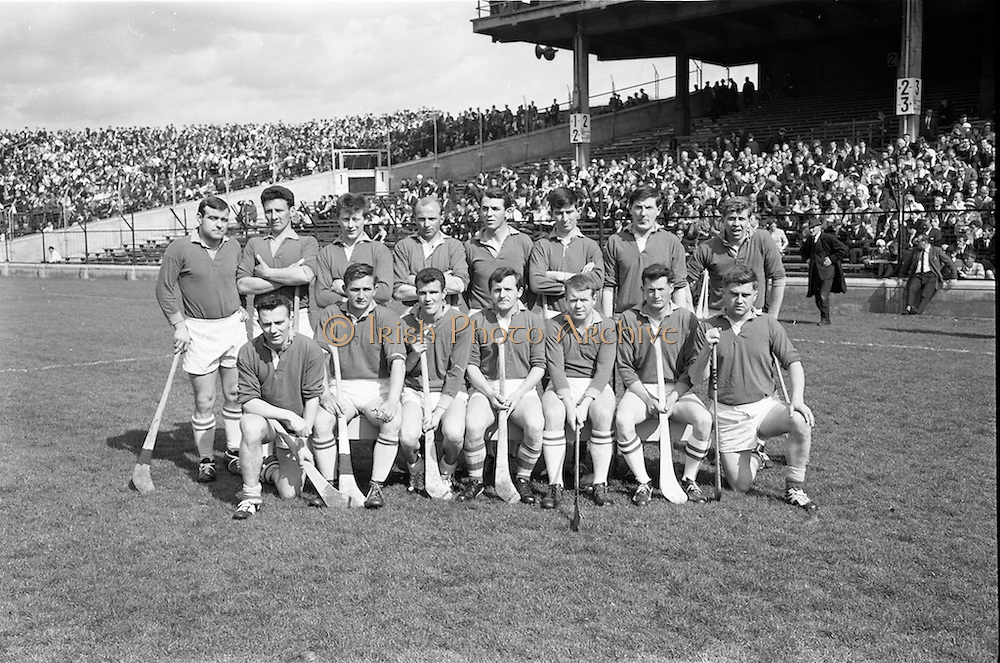 16/04/1967<br /> 04/16/1967<br /> 16 April 1967<br /> National Hurling League: Clare v Dublin at Croke Park, Dublin. <br /> The Clare team.