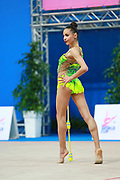 Bolataeva Natela is an individual rhythmic gymnast from Georgia who was born in Russia in 1998. Her coach is Eliso Bedoshvili.