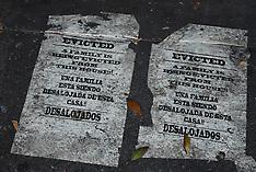 Dia de los Muertos, 'Evicted' Mural, GINAA Galeria de la Raza, photos by Catherine Herrera, 2013