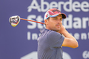 Benjamin Hebert (FRA) drives on the 15th tee during the final round of the Aberdeen Standard Investments Scottish Open at The Renaissance Club, North Berwick, Scotland on 14 July 2019.