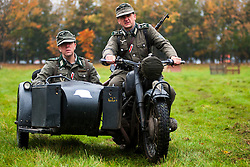 Pickering Show Ground Living History and Battle Reenactments<br /> 12 October 2013<br /> Image &copy; Paul David Drabble<br /> www.pauldaviddrabble.co.uk