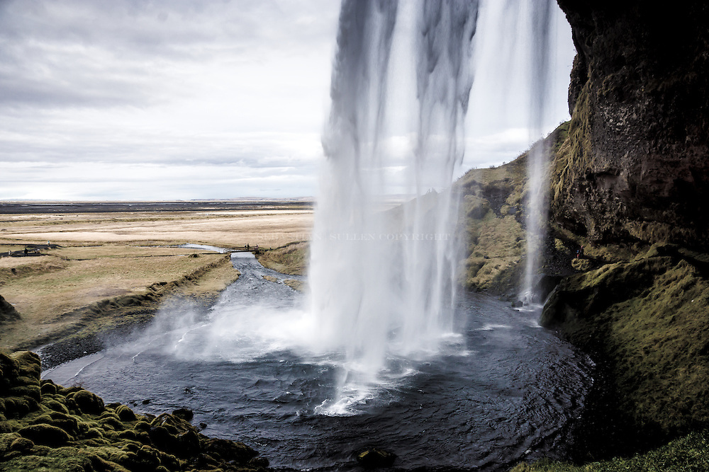 Iceland Seljalandsfoss waterfall is by far the most amazing place on earth.