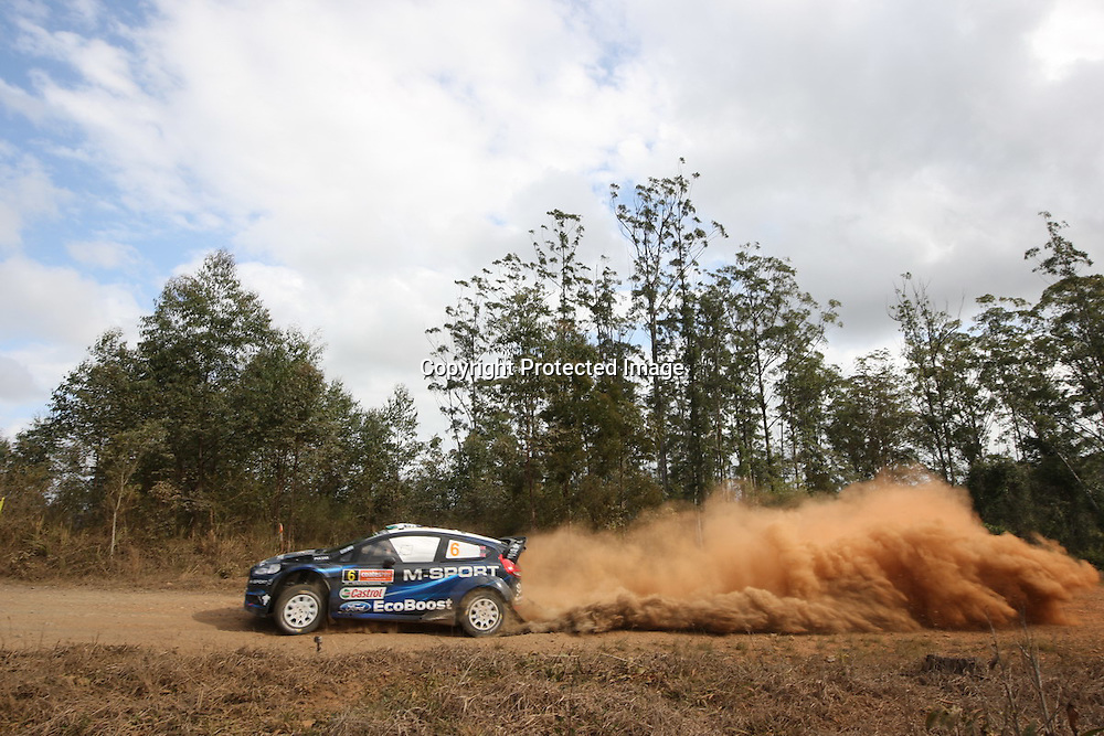 Rally Australia - Round 10 of the FIA World Rally Championship, Day 1, 12 September 2014. Photo: Alan McDonald/www.photosport.co.nz