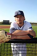 25 FEB 2016:    Danny Farquhar during the Tampa Bay Rays Spring Training workout at Charlotte Sports Park  in Port Charlotte, FL. (Photo by Cliff Welch/Icon Sportswire)