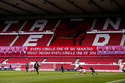 Match action during the behind closed doors Sky Bet Championship match between Nottingham Forest and Bristol City - Mandatory by-line: Robbie Stephenson/JMP - 01/07/2020 - FOOTBALL - The City Ground - Nottingham, England - Nottingham Forest v Bristol City - Sky Bet Championship