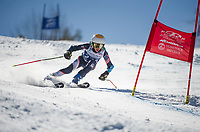 Francis Piche Invitational GS U14 mens second fun with Gunstock Ski Club.  ©2017 Karen Bobotas Photographer