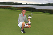 Peter Sheehan (Ballybunion) winner of The Ulster Seniors Open Championship in Lough Erne Golf Club, Enniskillen, Co. Fermanagh on Tuesday 30th July 2019.<br /> <br /> Picture:  Thos Caffrey / www.golffile.ie<br /> <br /> All photos usage must carry mandatory copyright credit (© Golffile | Thos Caffrey)
