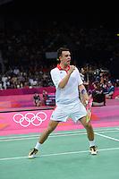Chris Adcock, Great Britain, Olympic Badminton London Wembley 2012