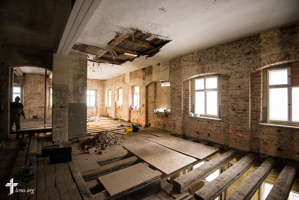 An interior photograph of one floor at the Old Latin School on Wednesday, Jan. 29, 2014, in Wittenberg, Germany. LCMS Communications/Erik M. Lunsford