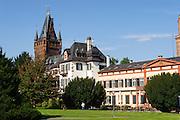 Schlosspark und Schloss, Weinheim, Baden-Württemberg, Deutschland | Castle Park and Schloss, Weinheim, Baden-Wurttemberg, Germany