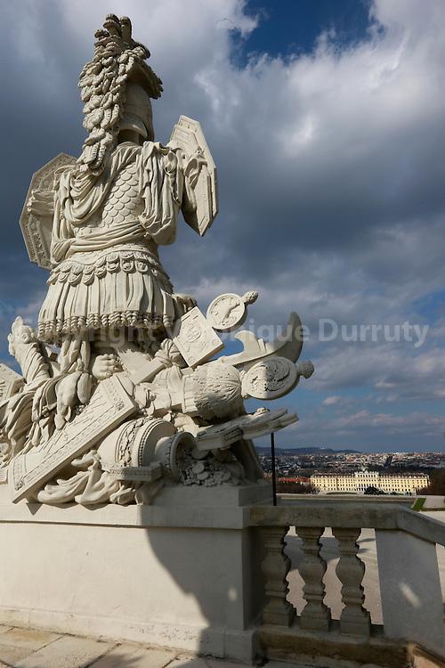 Schonbrunn Palace, Vienna, Austria // Palais de Schonbrunn, Vienne, Autriche,