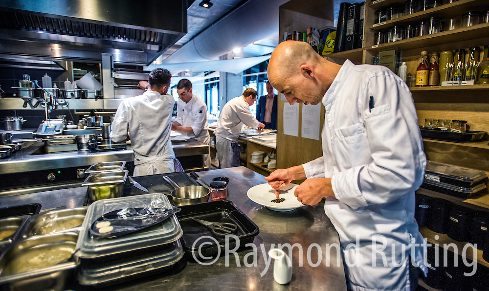 Netherlands -Amsterdam -Luc Kusters, Chef of Bolenius restaurant in Amsterdam . Frontman of the Dutch Cuisine . photo raymond rutting